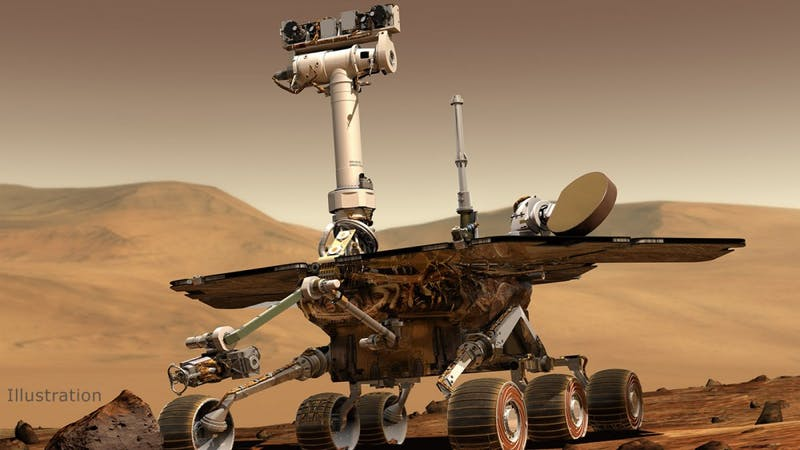 NASA/JPL/CORNELL UNIVERSITY NASA's Opportunity rover might have to end its 15-year orbit on Mars.