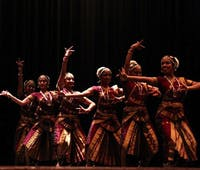 IVANA SU/PHOTOGRAPHY EDITOR JHU Shakti performed their classical South Indian style of dance.