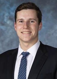 HOPKINSSPORTS.COM Blue Jay swimmer Matt McGough.