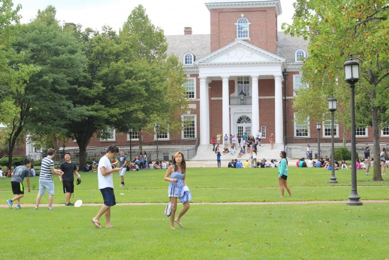 FILE PHOTO Students compared arts in public schools to humanities at hopkins.
