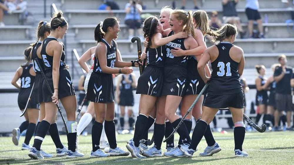 COURTESY OF HOPKINSSPORTS.COM Hopkins has high expectations entering this season, and the team is not afraid of the spotlight, aiming to win their first national title in program history.
