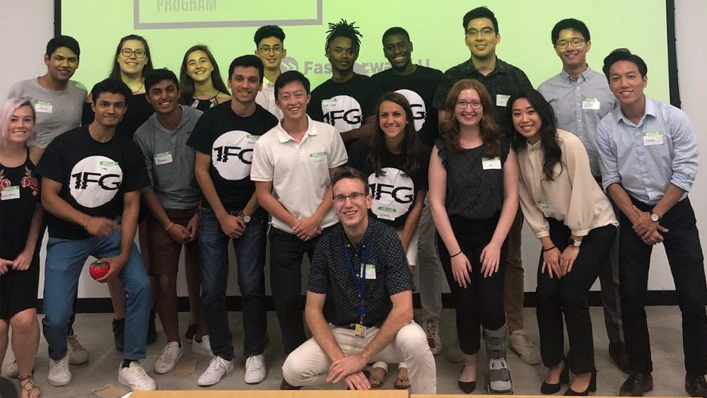 Some FFU teams aim to provide clean water and cancer biopsies to developing countries, while others work on biomedical technology.  COURTESY OF KRISTOFER MADU
