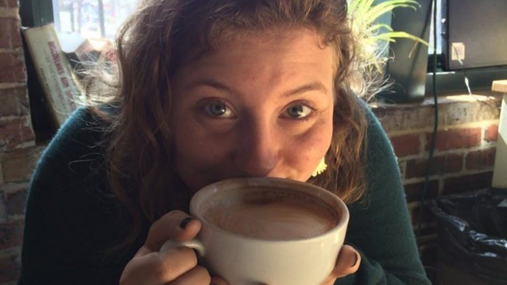 COURTESY OF HANNAH MELTON FACT: Charmington's lattes are approximately the size of your face.