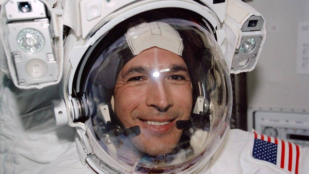 CC By CC/0 John Herrington was the first Native American person to go to space.