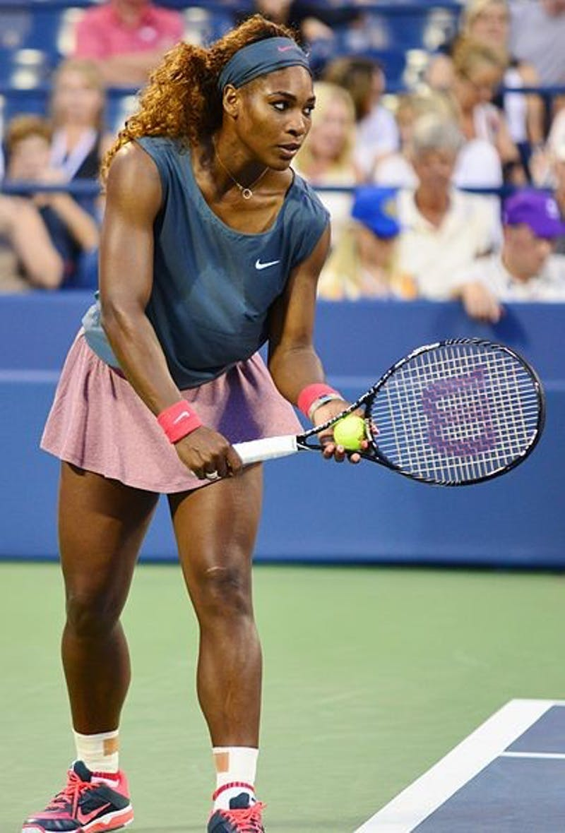 EDWIN MARTINEZ/CC BY 2.0 Serena Williams ended up losing a very controversial US Open Final.