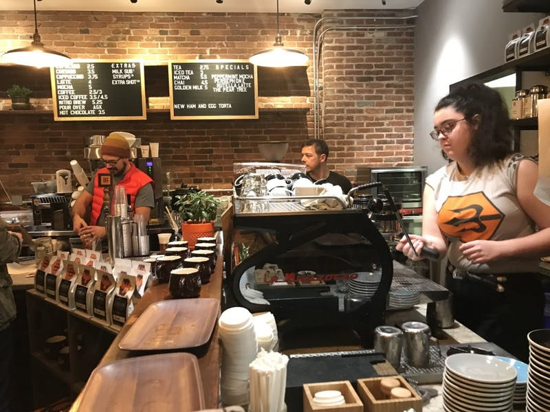 COURTESY OF TANYA WONGVIBULSIN 3 beans is located in Federal Hill, a popular place for shopping and dining.