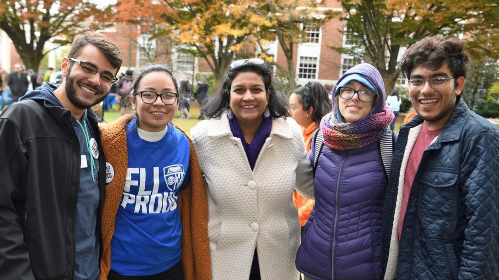 COURTESY OF SMITA RUZICKA Dean of Student Life Smita Ruzicka takes pride in the relationships she formed with students.