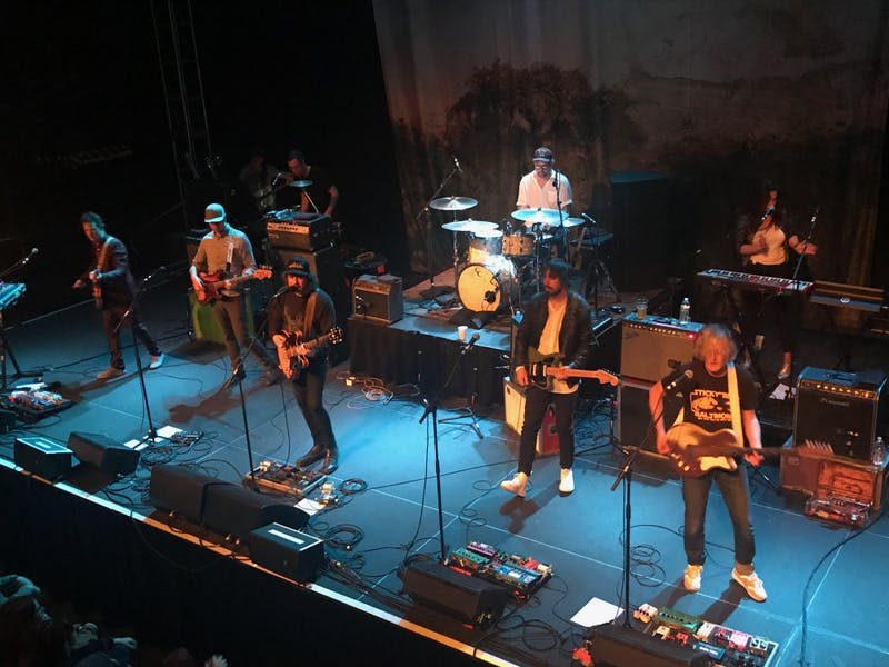COURTESY OF KATHERINE LOGAN Broken Social Scene is back on tour playing classics as well as new tracks.