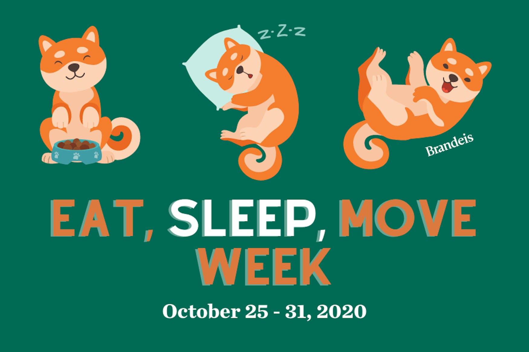 Eat, Sleep, Move Week