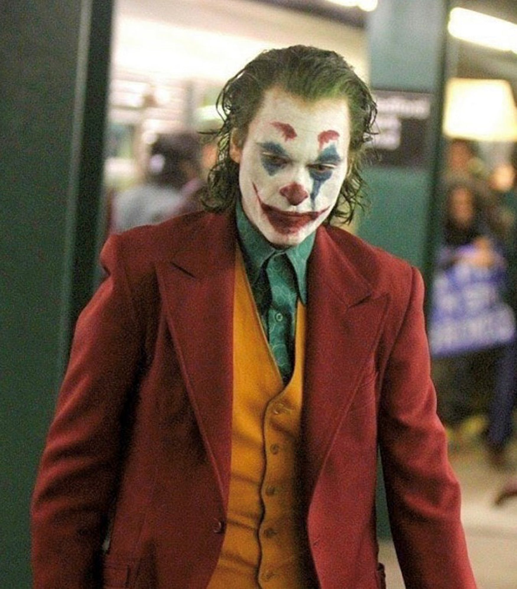 New Joker Film Is No Laughing Matter The Justice Director todd phillips released the first look of his 'joker' movie with a camera test starring joaquin phoenix as the joker! new joker film is no laughing matter