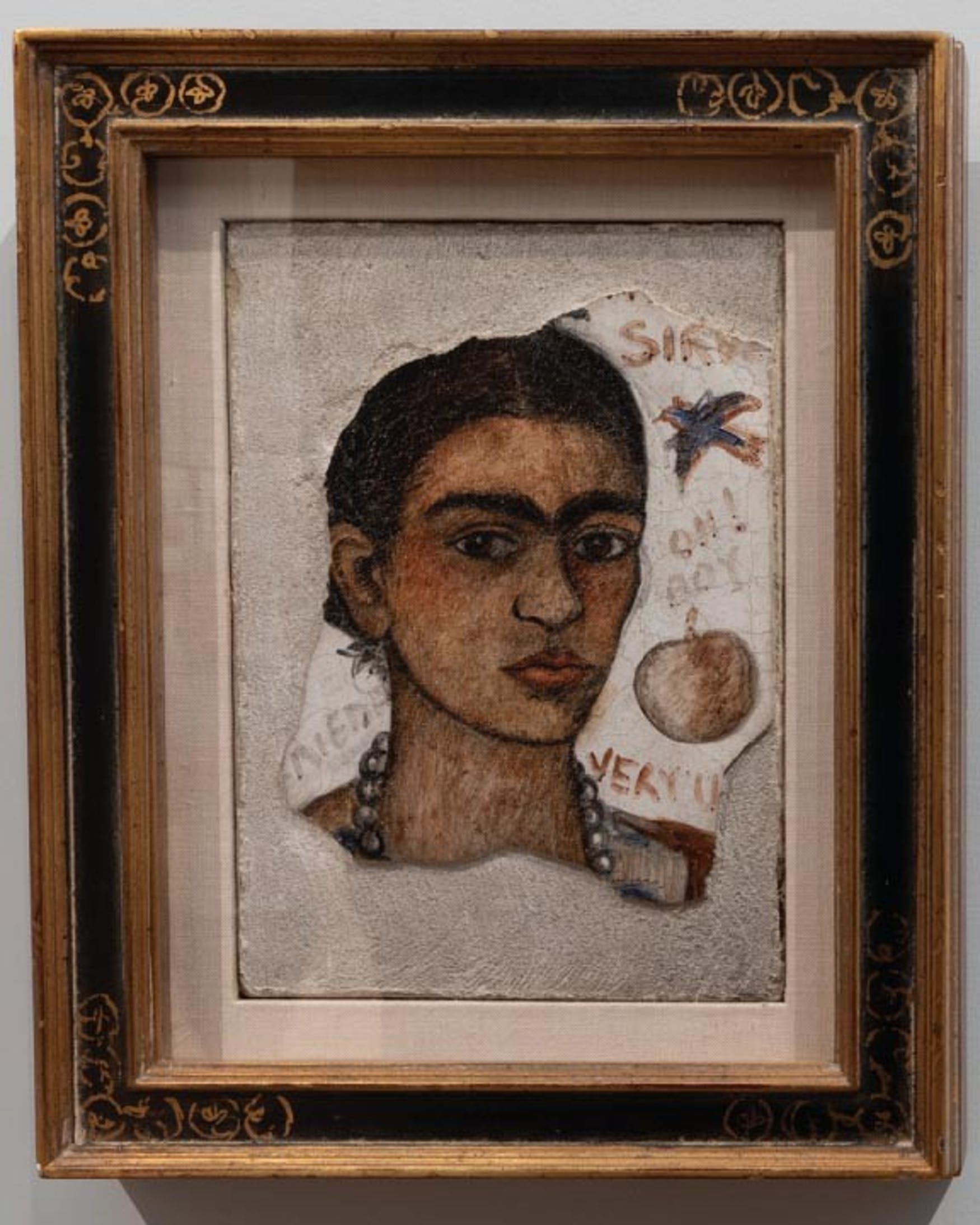 Frida Kahlo, Self Portrait (Very Ugly), 1933.