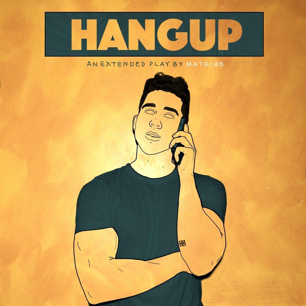 Hangup, Front Cover blue-Edit