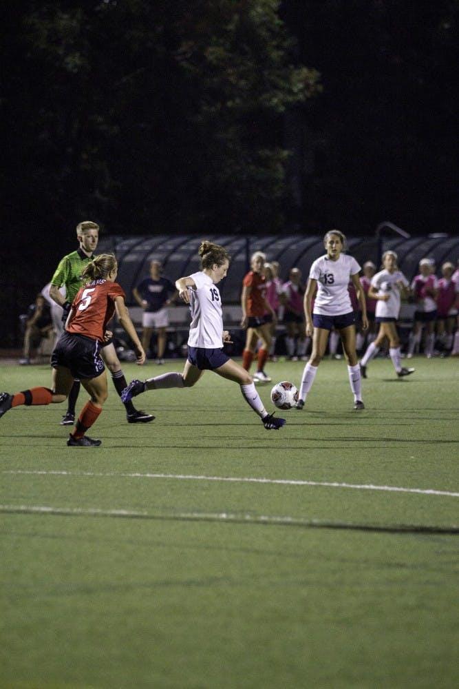 Soccer W vs. Bridgewater 9.5.17 NW