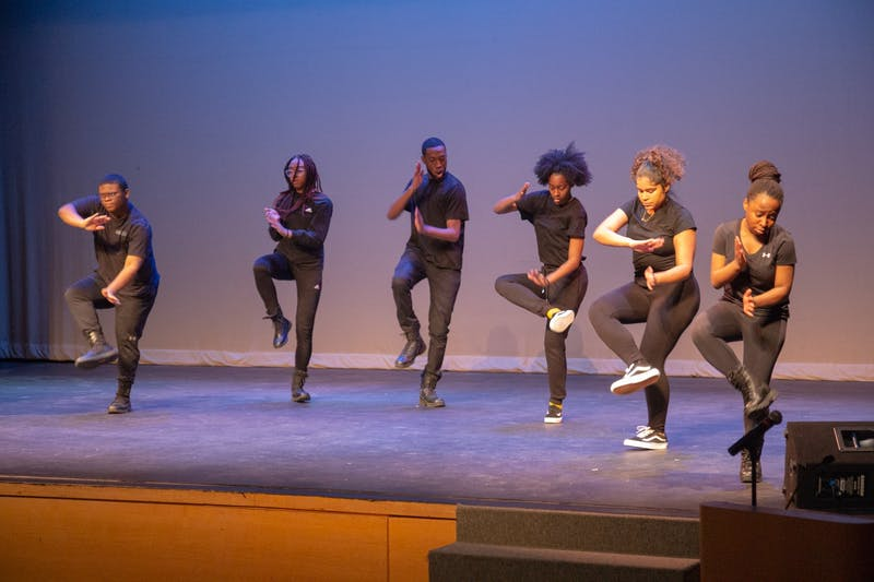 'UNAPOLOGETIC LOVE & LIGHT': The Brandeis Family, Men of Color Alliance and the Dean of Students' Office sponsored an event honoring Reverend Dr. Martin Luther King, Jr. on Monday, Jan. 20. For the fourteenth year, this annual celebration of King's life of activism featured music, dancing, spoken word and more. Dean of Students Jamele Adams emceed the event.