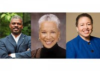 Rev. Jeffrey L. Brown, Angela Glover Blackwell and Dr. Beverly Daniel Tatum presented at the event.