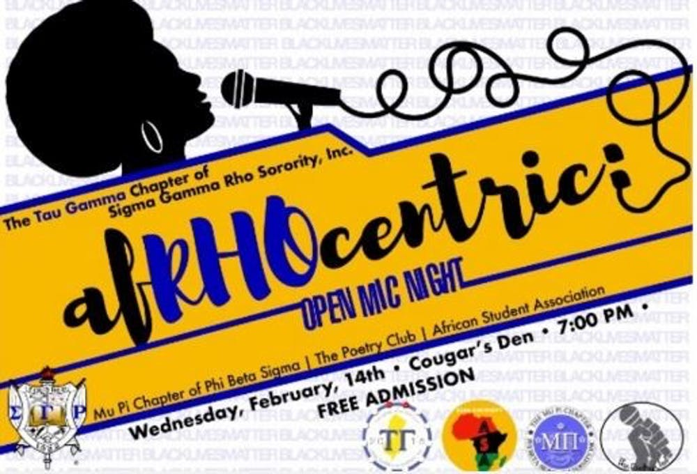 An Open Mic For The Culture: AfRHOcentric 2018!
