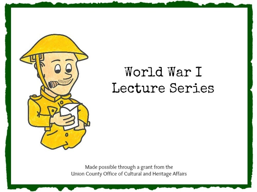 World War I Lecture Series At Liberty Hall