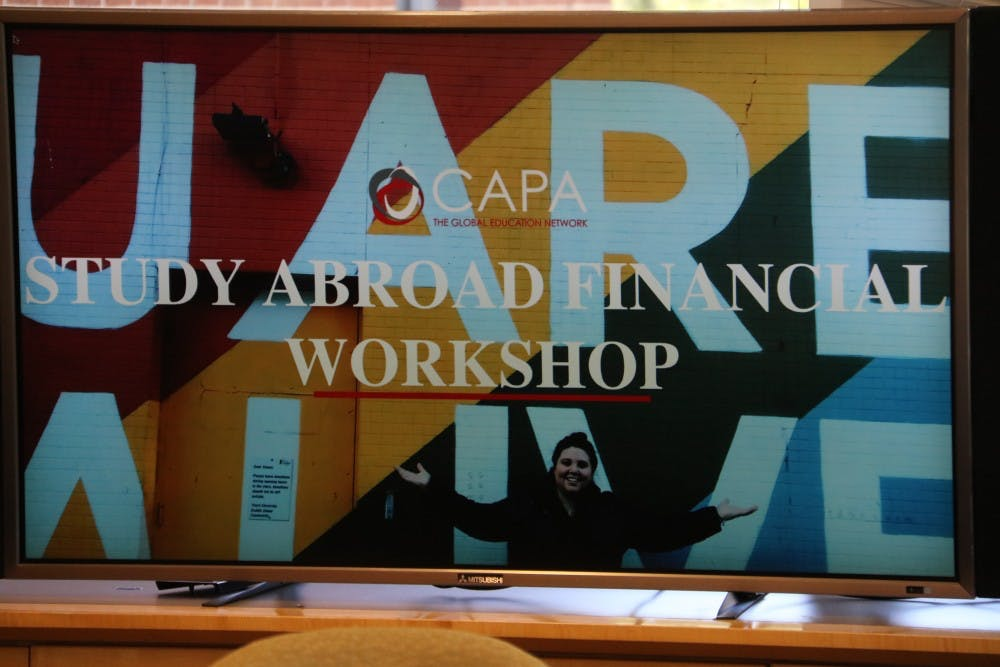 Financial Workshop: Studying Abroad
