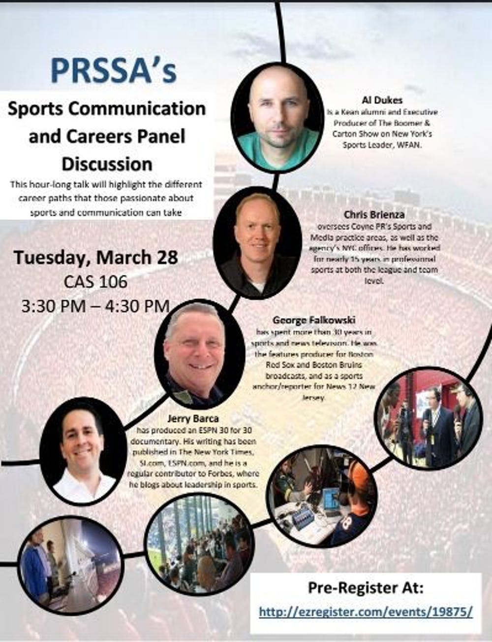 Come Learn About The Sports Communication Field!