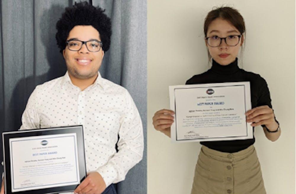Kean Faculty & Students Win Best Paper Award