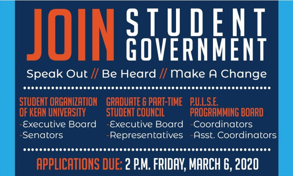 Apply for Student Government!
