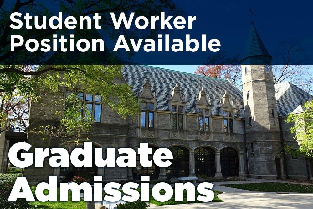 Graduate Admissions is Hiring!