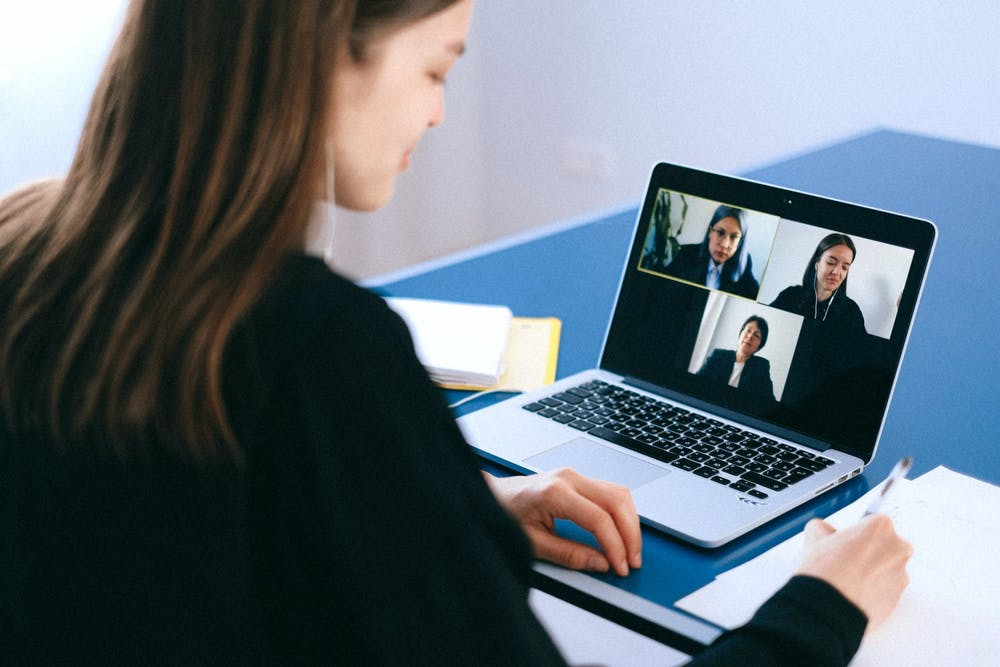 Staying in Touch Virtually