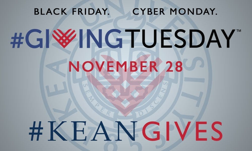 #KeanGives for #GivingTuesday