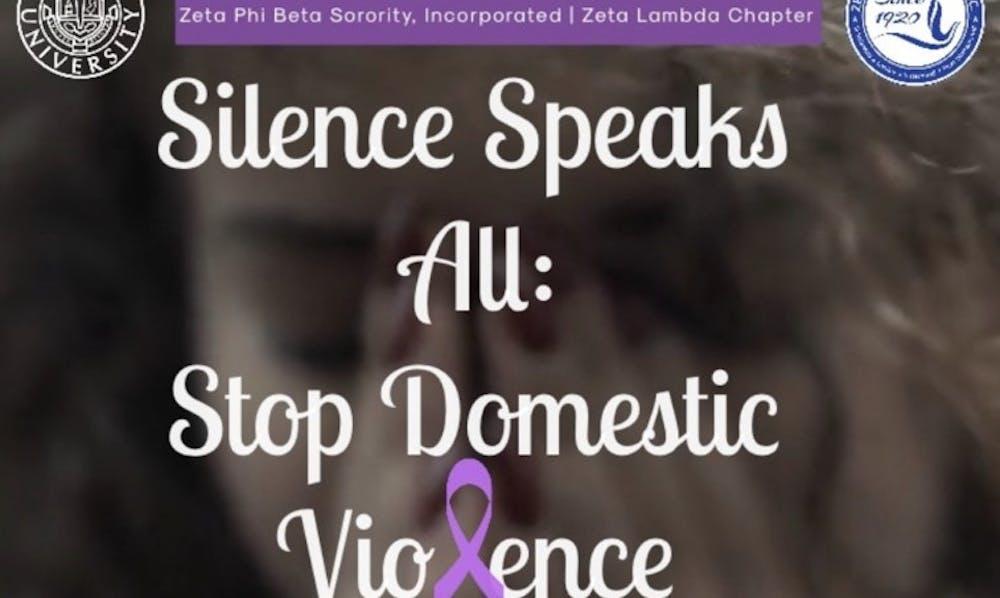 Raising Awareness for Domestic Violence