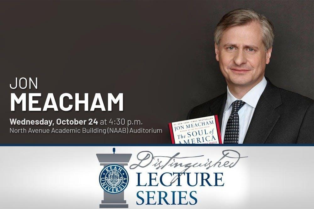 Jon Meacham Kicks Off Distinguished Lecture Series!