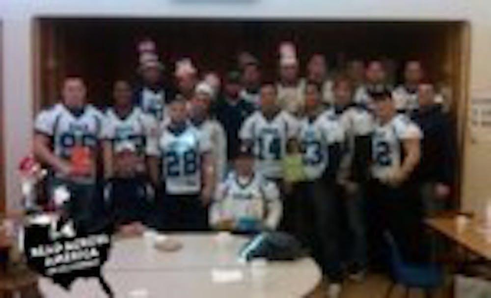 Kean Football Participates in Read Across America