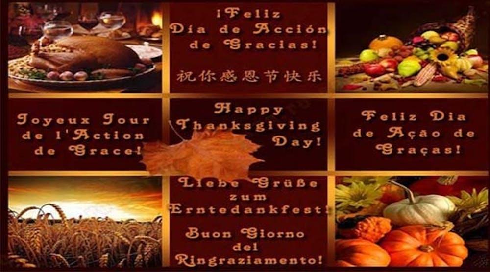 Giving Thanks Around The World