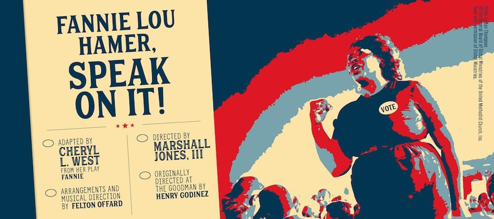 Kean University Presents Cheryl L. West's Fannie Lou Hamer, Speak On It!