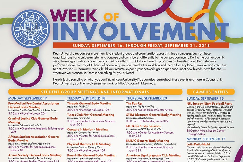 A Look into Involvement Week
