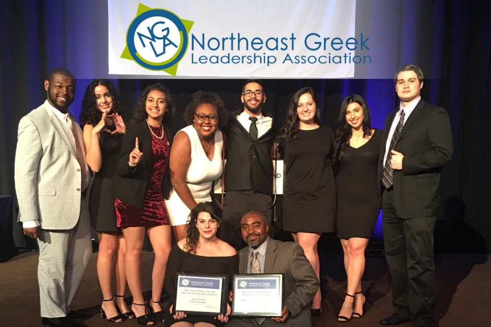 Kean Greek Senate Wins Awards At Northeast Greek Leadership Association Conference