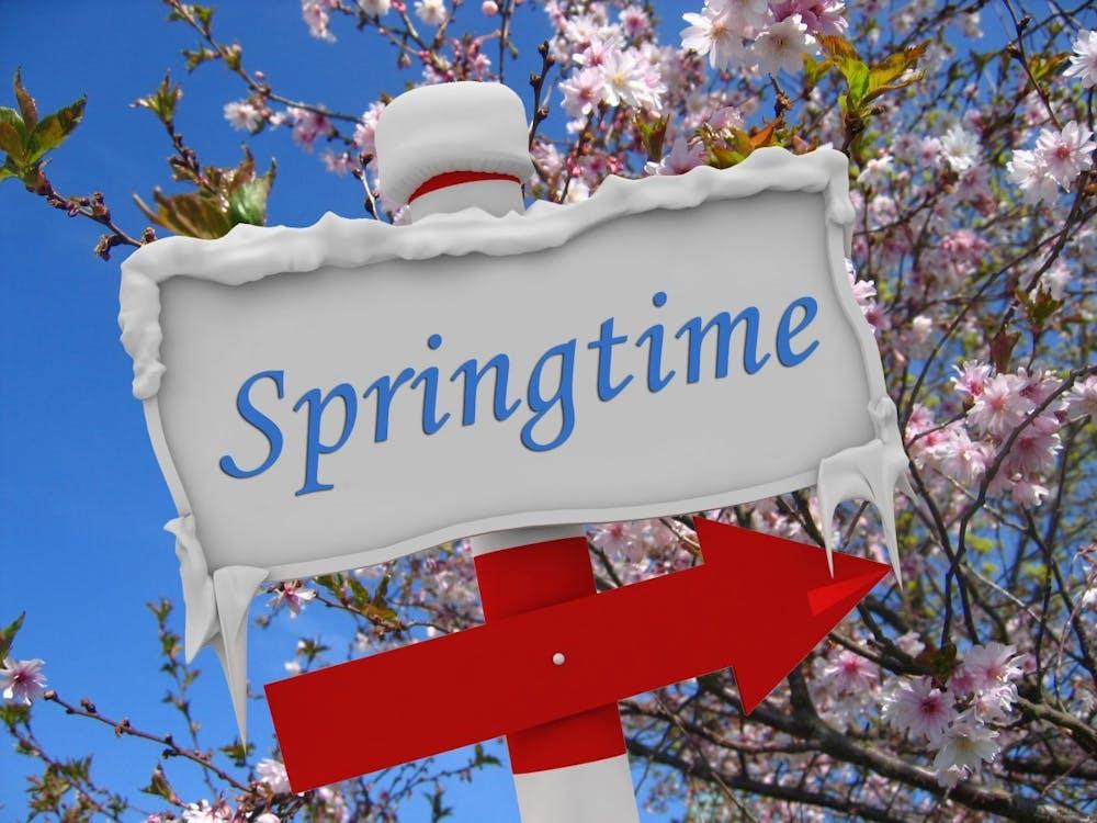 Goodbye Winter, Hello Spring!
