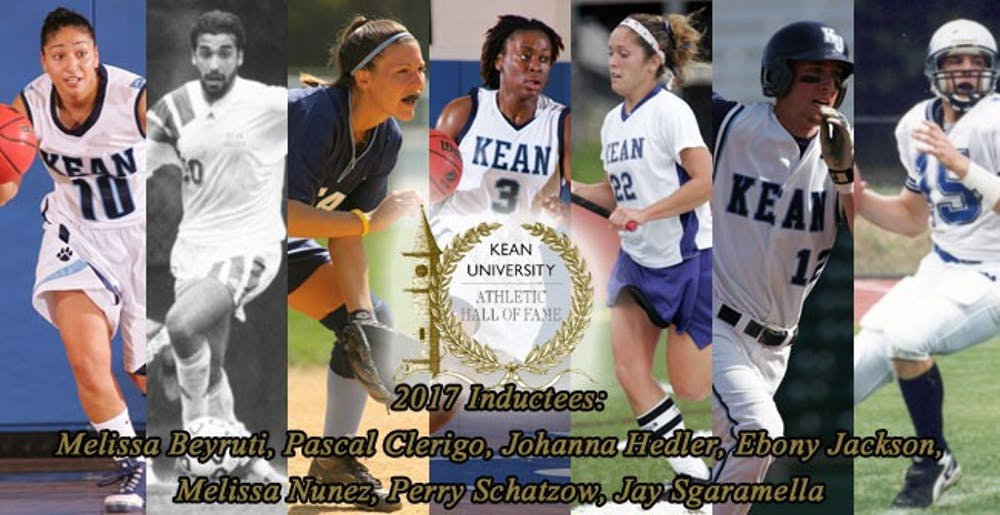Kean Honors Seven Former Athletes