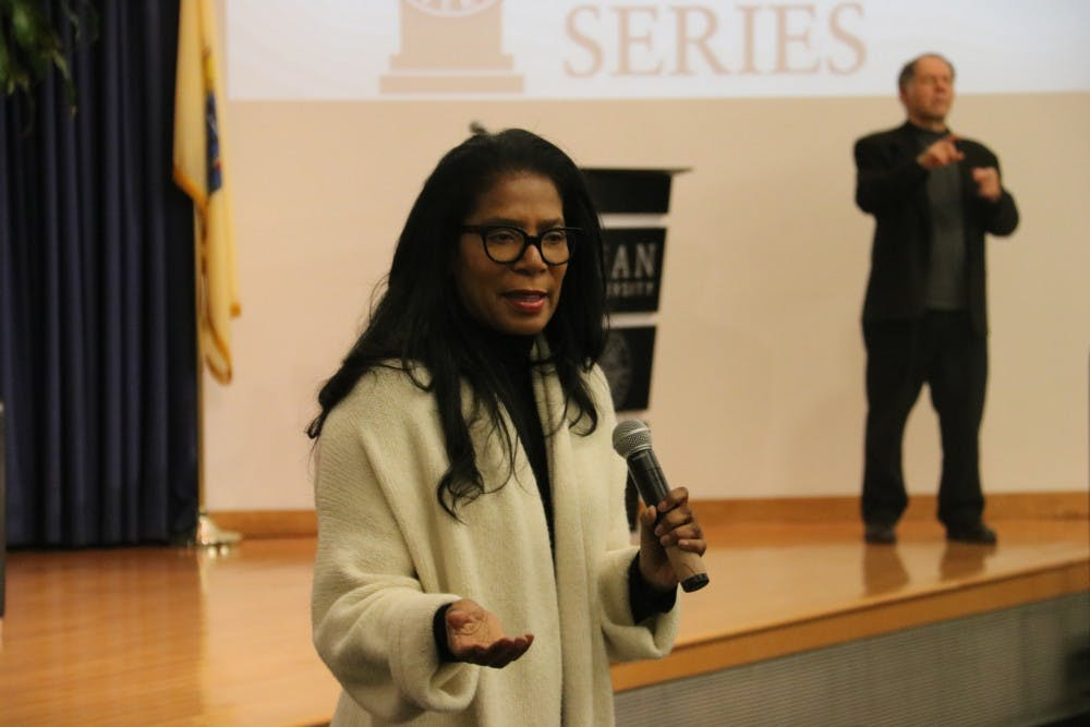Judy Smith Delivers for Kean's Distinguished Lecture Series