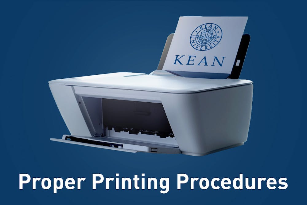 Safe Campus Printing Procedures