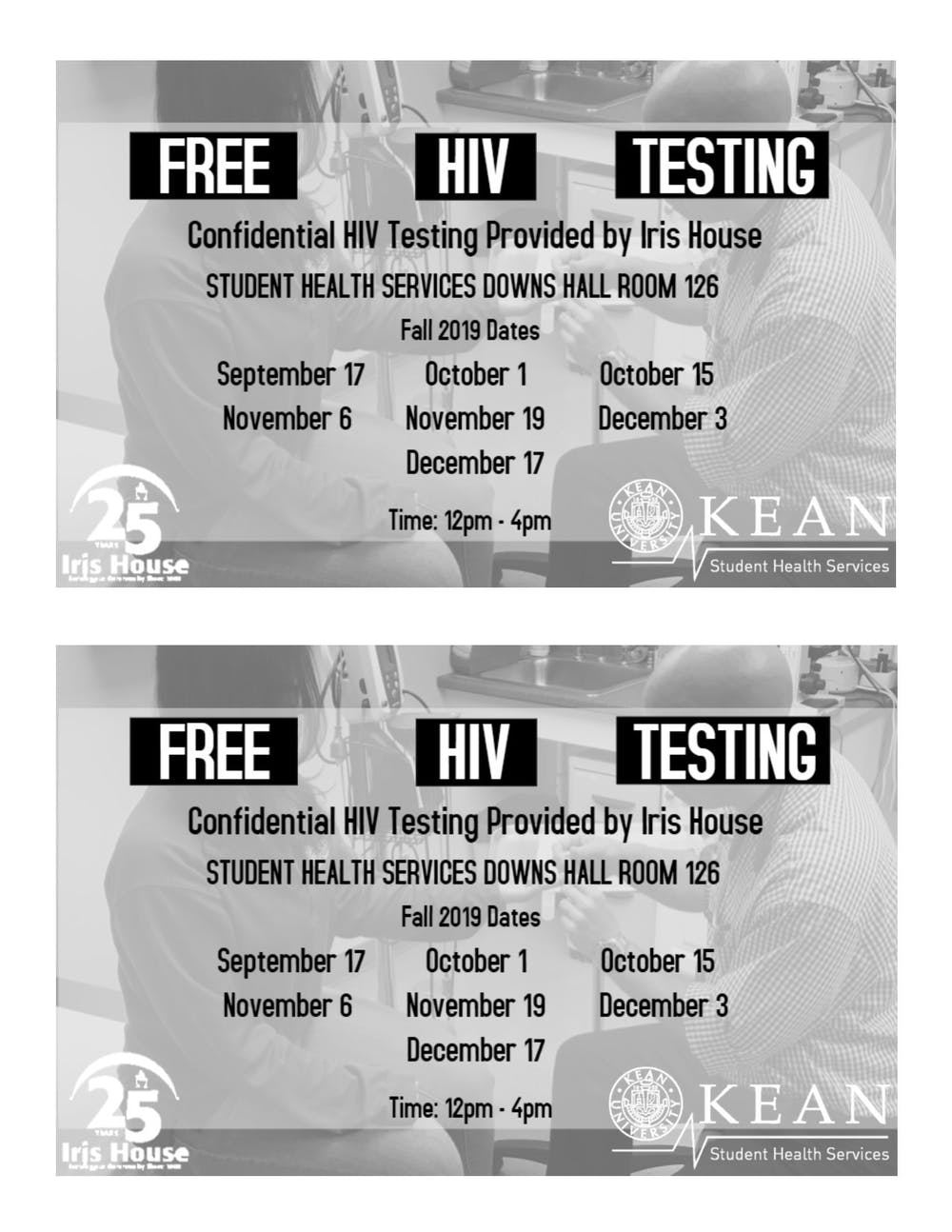 Get Tested Today for Free