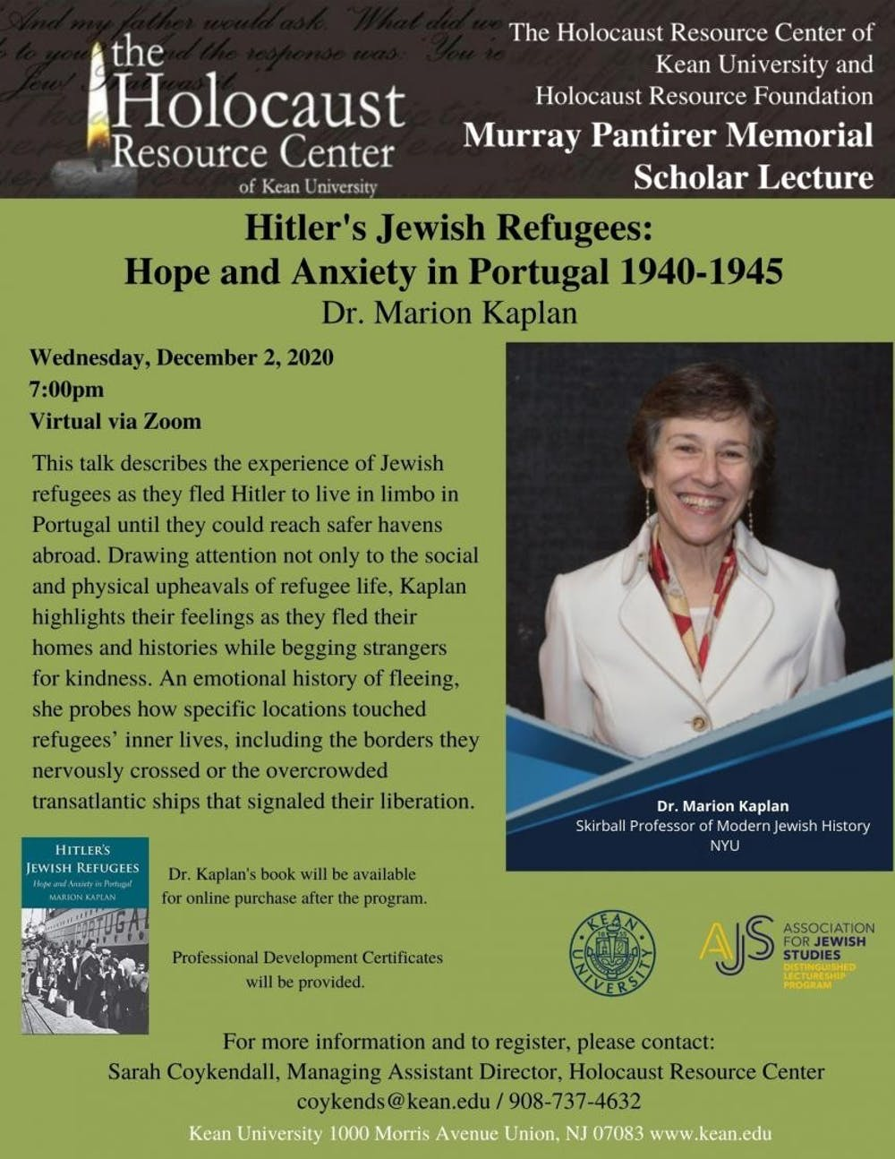 Hitler's Jewish Refugees: Hope and Anxiety in Portugal