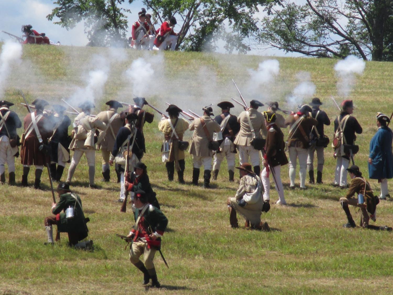 battle-of-hubbardton-reenactment