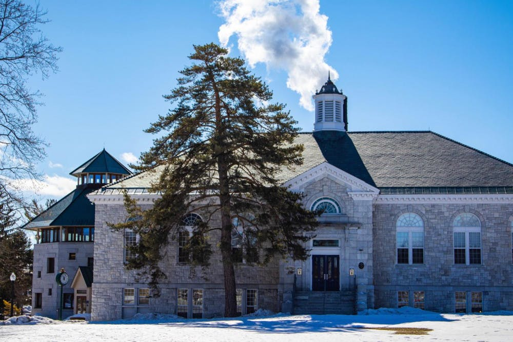 """<span class=""""photocreditinline"""">MICHAEL BORENSTEIN/THE MIDDLEBURY CAMPUS</span><br />McCullough Student Center could be renovated or replaced as a result of recommendations from the How We Will Live Together Steering Committee."""