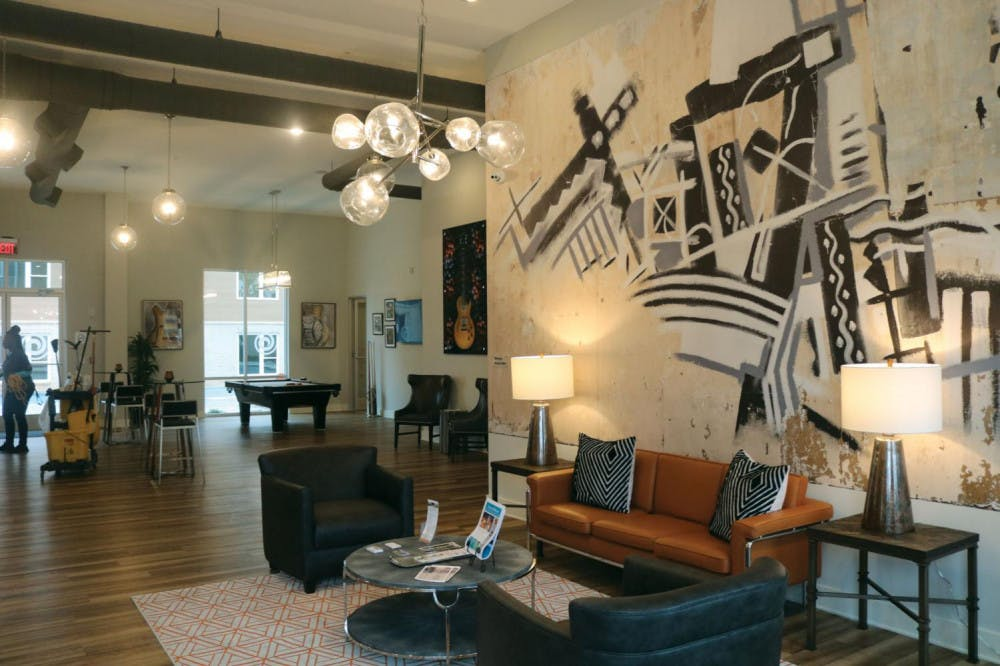 The Lofts at Capricorn's design is inspired by the musical history of Macon.