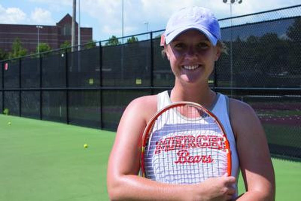 Grace Korta is a junior on the Mercer Women's Tennis team.