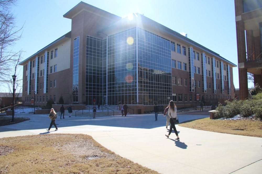 Mercer is raising the bar with plans to grow their reputation as a research university. Their most recent investment: the $44 million Spearman C. Godsey Science Center. The four-story center opened to students on the first day of the semester, with 60 teaching and research labs, 46 offices and seven lecture rooms.