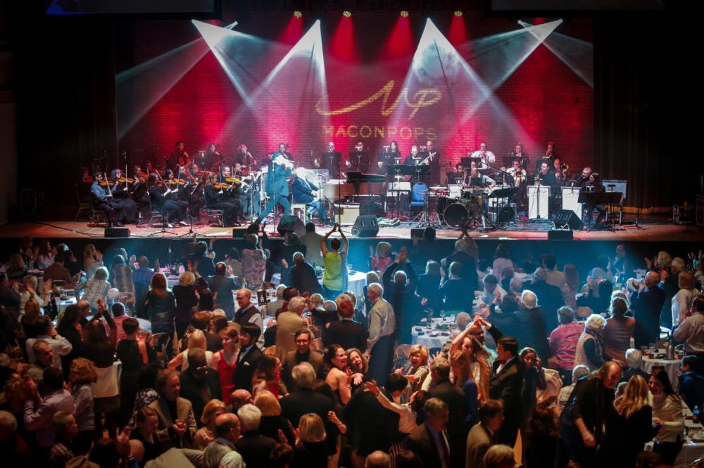 """The Macon Pops will create a giant night club atmosphere at Mercer's Hawkins Arena with their """"Latin Pop Revolution"""" concert."""