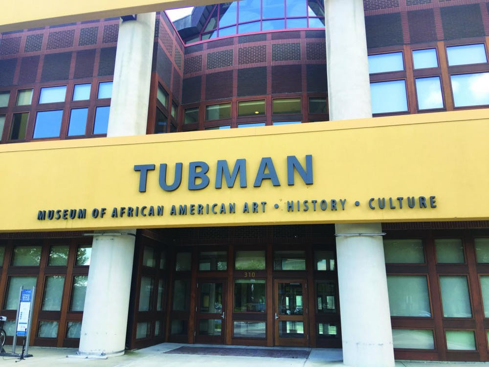 The exterior of the Tubman Museum in Macon, Georgia. Photo by Addison Robinson.