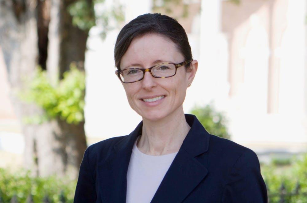 Karen Sneddon was named the interim law school dean, effective Oct. 1. Photo provided by Mercer University.