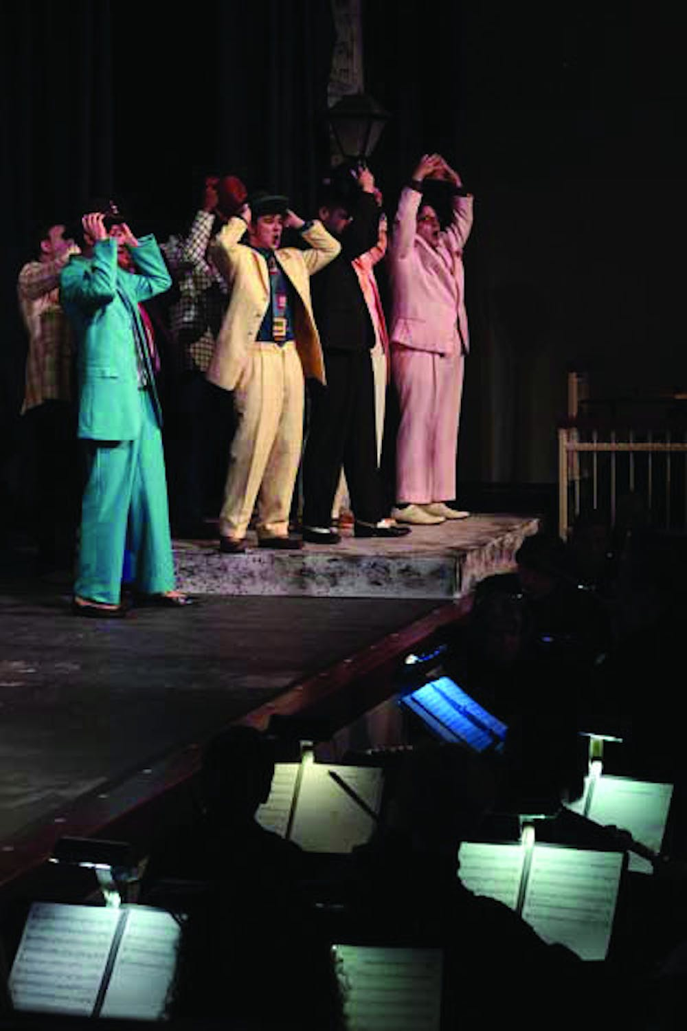 This season the Mercer University Opera presents a classic Broadway musical, Guys and Dolls. By Thais Ackerman.